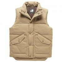 Vintage Industries - Newbury bodywarmer - Dark Khaki