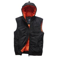 Vintage Industries - Smith bodywarmer - Black