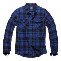 Vintage Industries - Austin shirt - Blue Check