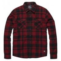 Vintage Industries - Austin shirt - Red Check