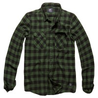 Vintage Industries - Harley shirt - Green Check