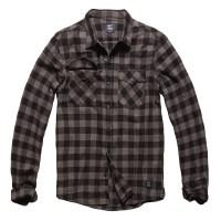 Vintage Industries - Harley shirt - Grey Check