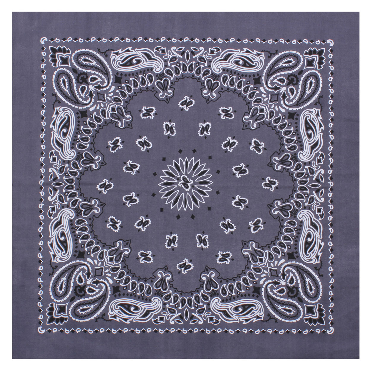 Rothco - Large Trainmen Bandanas 27 Inch - Grey