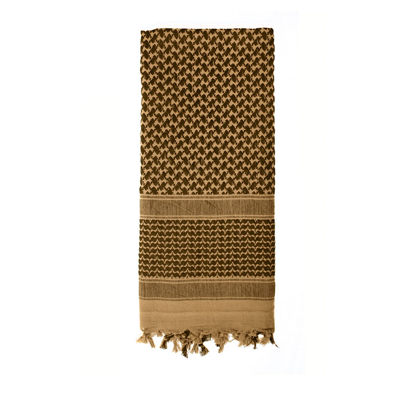 Rothco - Lightweight Shemagh Tactical Desert Scarves - Coyote Brown