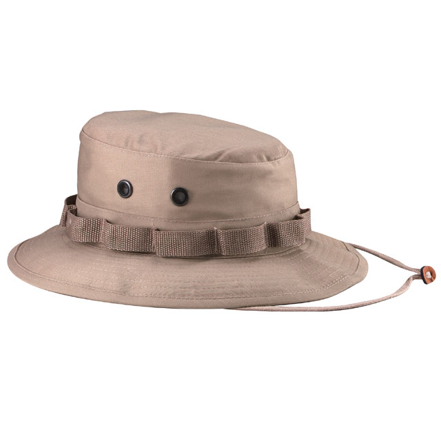 Rothco - 100% Cotton Rip-Stop Boonie Hat - Khaki