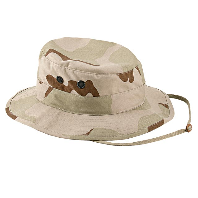 Rothco - Poly-Cotton Rip-Stop Boonie Hat - Tri-Color Desert Camo