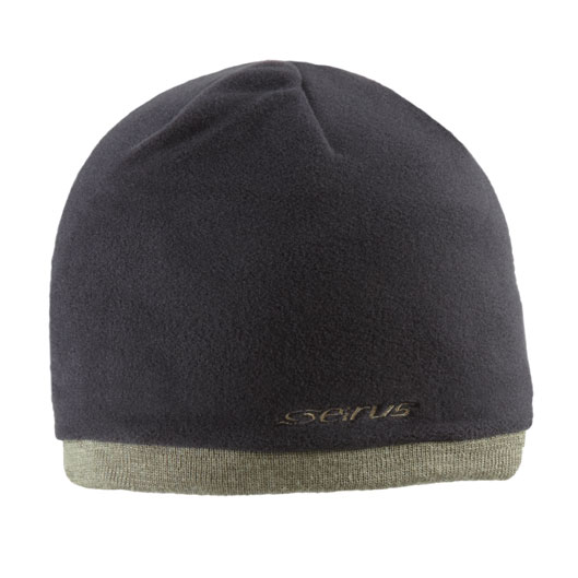 Seirus - Fleece Knit Hat - Black/Olive