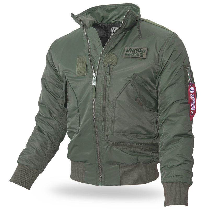 Dobermans - Jacket Offensive - Olive