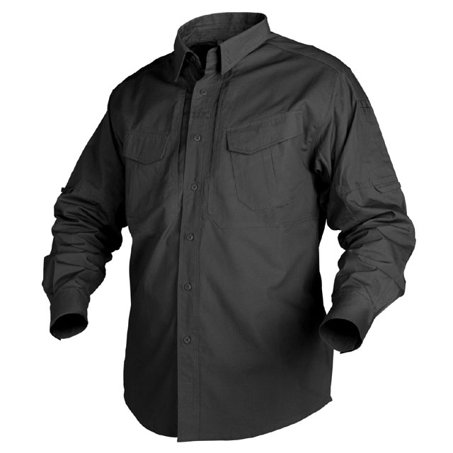 Helikon-Tex - Defender Long Sleeve Shirt - Black