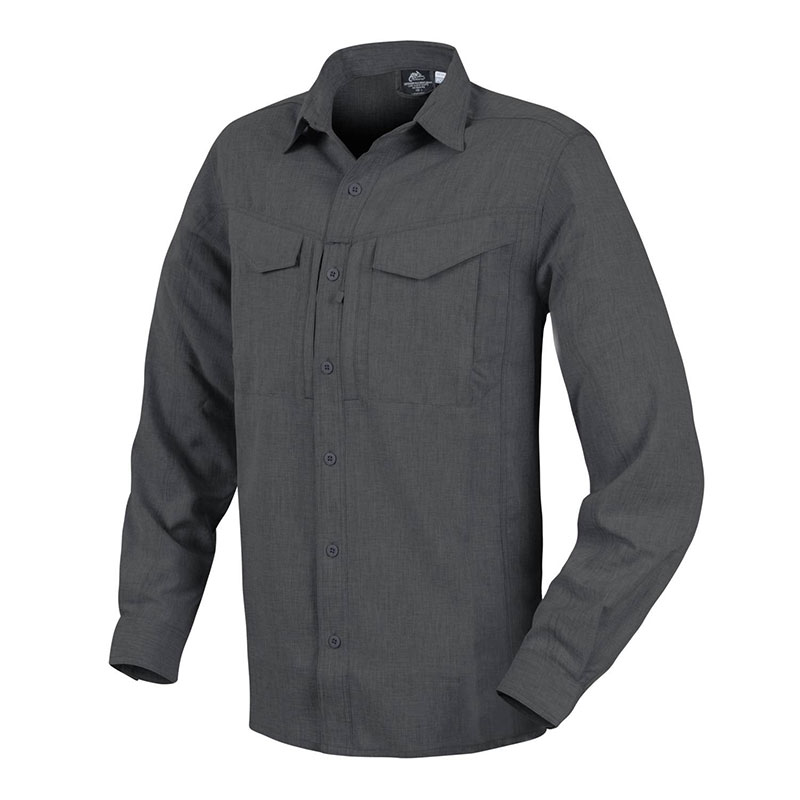 Helikon-Tex - DEFENDER Mk2 Gentleman Shirt - Melange Black-Grey