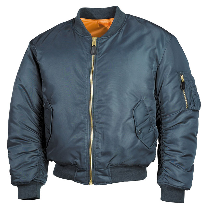Max Fuchs - US Flight Jacket MA1 - blue