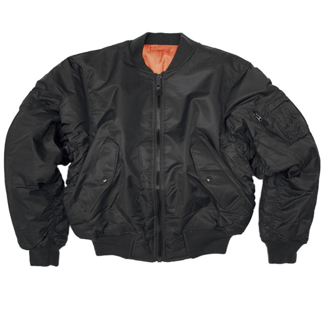 Sturm - US Black Teesar MA1 Flight Jacket