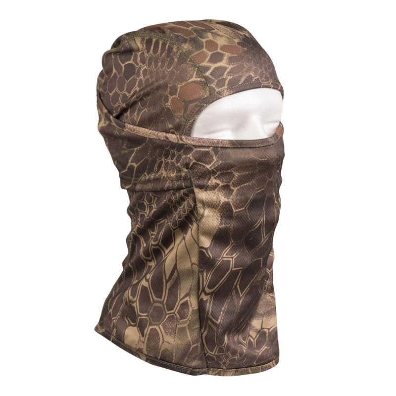 Sturm - Mandra Wood Tactical Balaclava Open