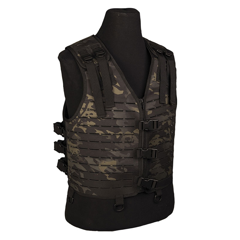 Sturm - Multitarn Black Laser Cut Vest Lightweight