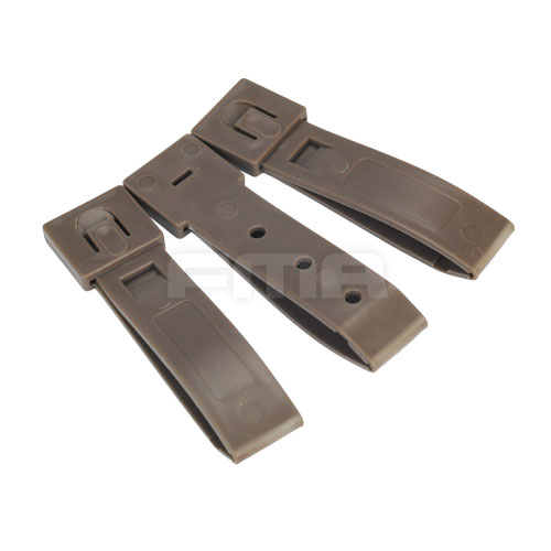 FMA - 3'' Strap Buckle Accessory (3pcs For A Set) - Dark Earth