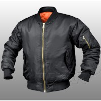TEXAR - MA-1 Jacket - Black