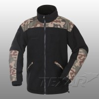 TEXAR - Fleece Jacket GROM - Black