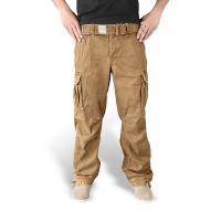 Surplus - Premium Vintage Trousers - Beige Washed