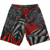 Шорты Liquid Blue - Chinese Dragon Black Board Shorts