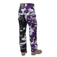 Rothco - Two-Tone Camo BDU Pants - Ultra Violet Purple / City Camo