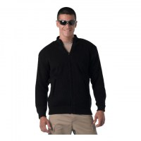 Rothco - Reversible Zip Up Commando Sweater - Black