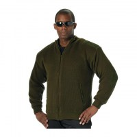 Rothco - Reversible Zip Up Commando Sweater - OD