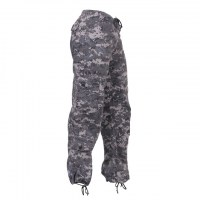 Rothco - Womens Camo Vintage Paratrooper Fatigue Pants - Subdued Urban Digital