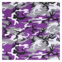 Rothco - Large Camo Bandana - Ultra Violet Camo