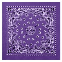 Rothco - Large Trainmen Bandanas 27 Inch - Purple