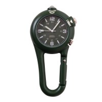 Rothco - Clip Watch w/ LED Light - Black