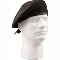 Rothco - G.I. Type Wool Beret - Black