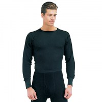 Rothco - Thermal Knit Underwear Top - Black