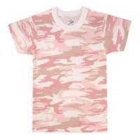 Rothco - Kids Camo T-Shirts - Baby Pink Camo