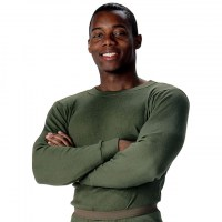 Rothco - Thermal Knit Underwear Top - Olive Drab