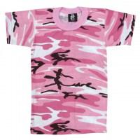 Rothco - Kids Camo T-Shirts - Pink Camo