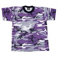 Rothco - Kids Camo T-Shirts - Ultra Violet