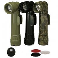 Rothco - Genuine G.I. Anglehead Flashlight - Woodland