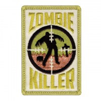 Rothco - Zombie Killer Patch With Hook Back