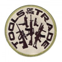 Rothco - Tools Of The Trade Patch With Hook Back