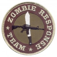 Rothco - Zombie Response Team Patch - Hook Backing
