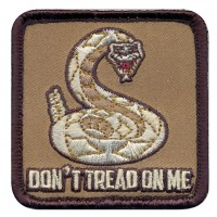 Rothco - Don't Tread On Me Patch - Hook Backing