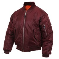 Rothco - MA-1 Flight Jacket - Maroon