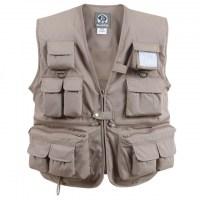 Rothco - Uncle Milty Khaki Travel Vest - Khaki