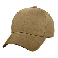 Rothco - Supreme Solid Color Low Profile Cap - Coyote Brown