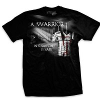 Ranger Up - A Warrior in Garrison is Safe Normal-Fit T-Shirt