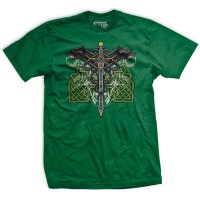 Ranger Up - Celtic Warrior Athletic-Fit  T-Shirt
