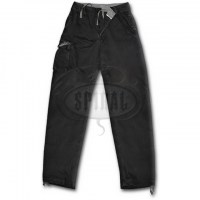 Spiral Direct - METAL STREETWEAR - Vintage Cargo Trousers - Black