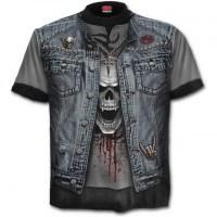 Spiral Direct - THRASH METAL - Allover T-Shirt Black