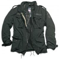Surplus - Regiment M65 Jacket - Black Washed