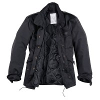 Surplus - Hydro US Fieldjacket M65 - Black